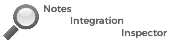 Notes Integration Inspector