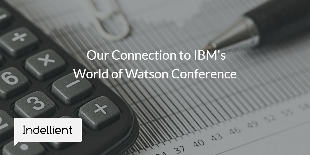 Image describing Indellient's connection to IBM World of Watson