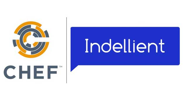 Chef Logo and Indellient Logo