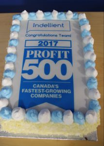 A special treat to celebrate our PROFIT500 win with our team.