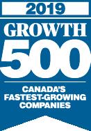 Logo for the Growth 500 award
