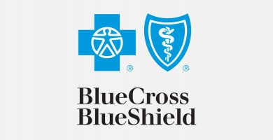 Image with the BlueCross and BlueShield logos
