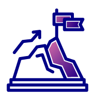 icon for reaching goal