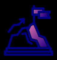 icon for reaching goal