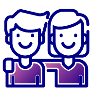 icon for friendly