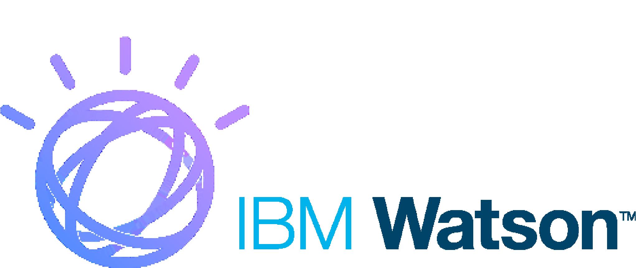 Logo for IBM Watson