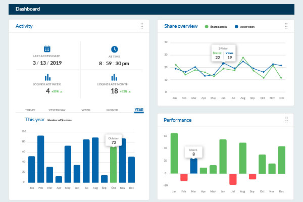 Example of an Analytical Dashboard