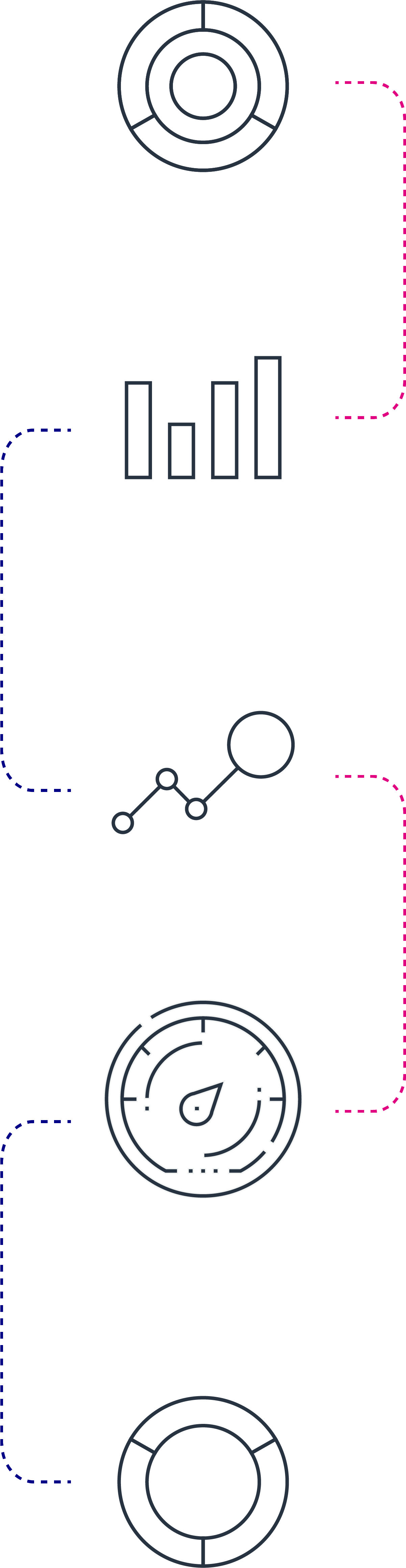graphics showing business processes