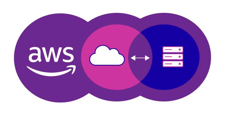 AWS Hybrid Cloud Graphic