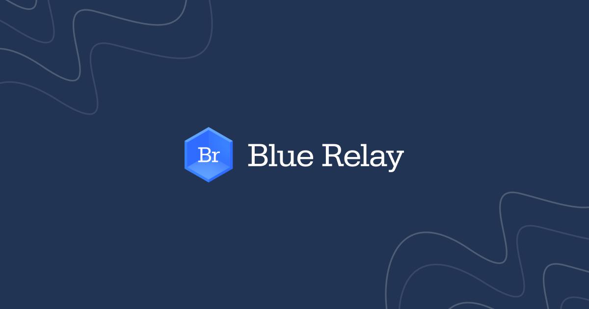 Blue Relay Home