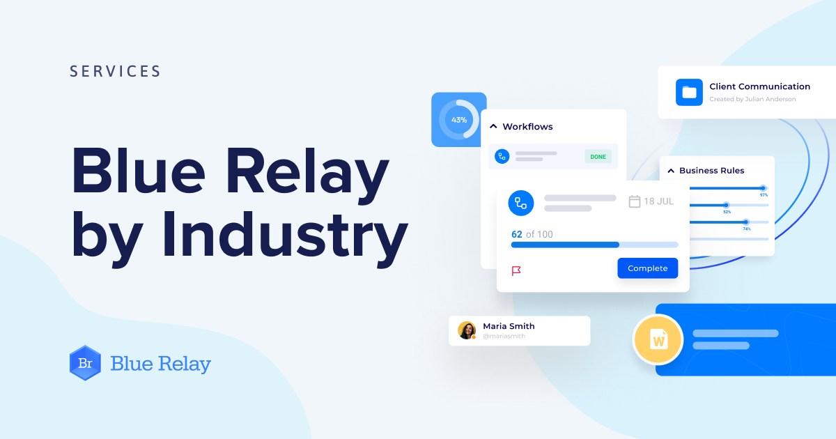 Blue Relay by Industry